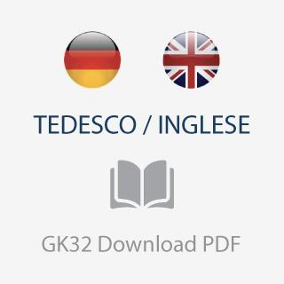 catalogo listino GK32 tedesco inglese